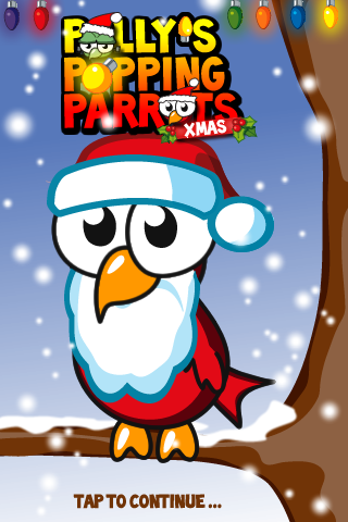 Screenshot Pollys Popping Parrots XMAS