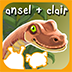 Ansel &amp; Clair: Jurassic Dinosaurs