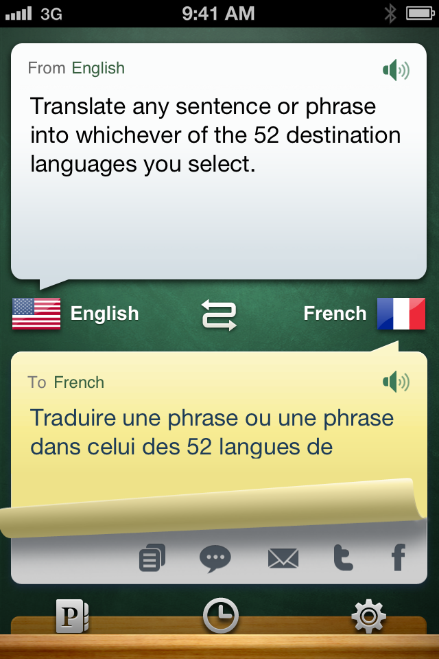iHandy Translator Pro iPhone